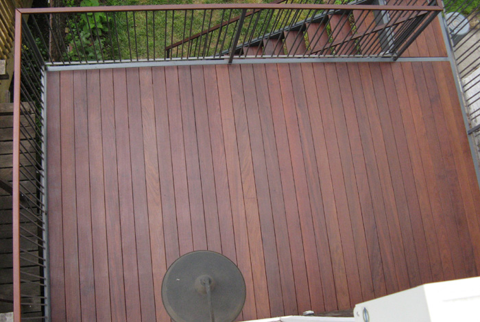 Ipe deck windsor terrace brooklyn